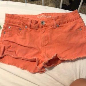 Refuge Coral Shorts